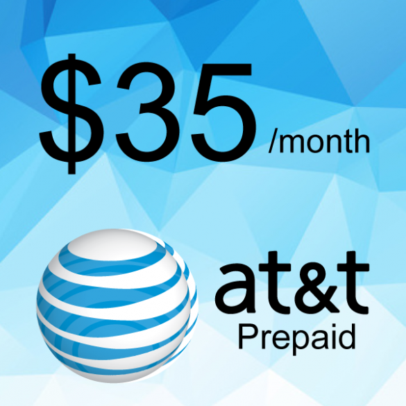 AT&T Prepaid Plan $35/month | Cell City Long Beach NY