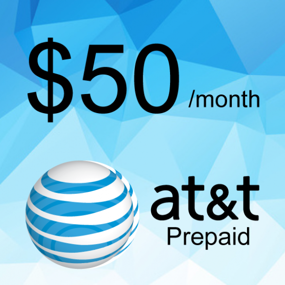 AT&T Prepaid Plan $50/month | Cell City Long Beach NY