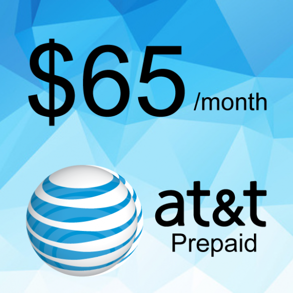 AT&T Prepaid Plan $65/month | Cell City Long Beach NY