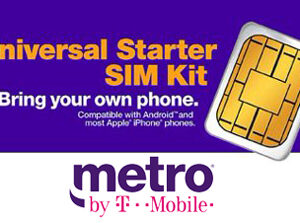 Metro by T-Mobile SIm Card Kit
